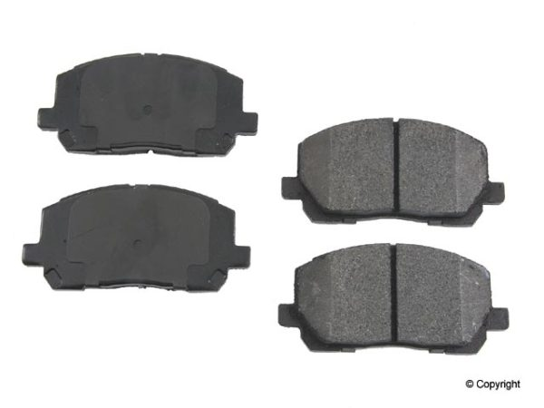 Front Disc Brake Pads for Toyota Highlander 01-07-0