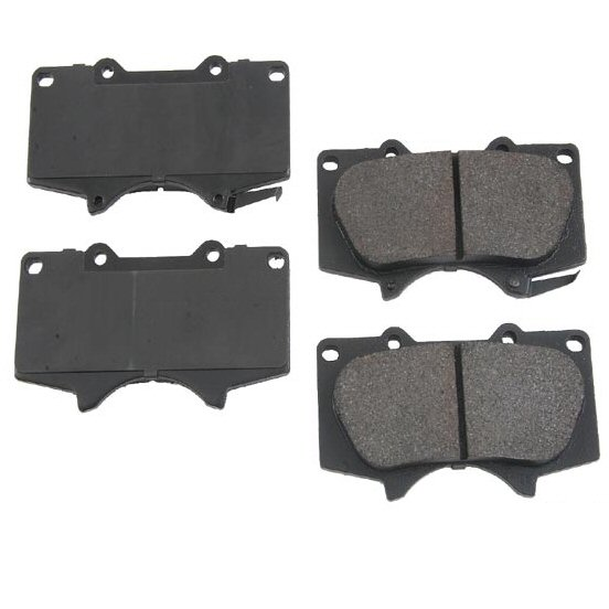 Front Brake Pads for Toyota 4Runner FJ Cruiser Sequoia Tacoma Tundra Lexus GX470-0