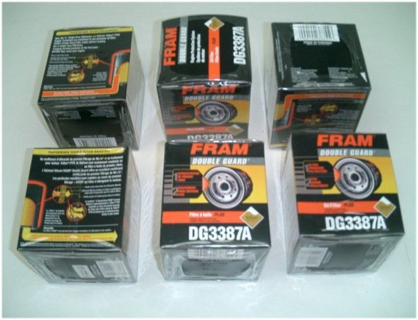 6 FRAM Oil Filters for your Chevrolet-0