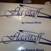 Decals for FlagStaff by Forest River Camper Pop Up Travel Trailer Stickers RV 2-19575