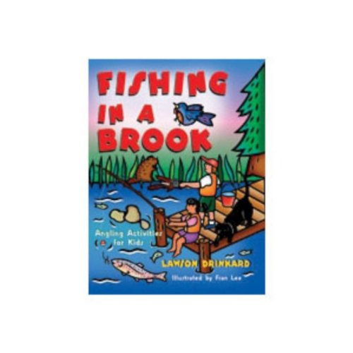 Gibbs Smith Fishing In A Brook Angler Guide Hiking Tent Camper Trailer Pop Up-0
