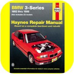 Repair Manual Book BMW 318i 318 Z3 E36 92-98 Owners-0