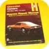 Repair Manual Book Chevy Camaro Z28 Berlinetta 70-81 V8-0