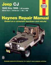Repair Top Shop Manual Book Jeep CJ5 CJ7 CJ8 Scrambler-0