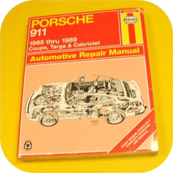 Repair Manual Book Porsche 911 Owners Targa Carrera NEW-0