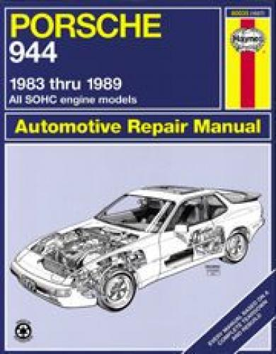 Repair Manual Book Porsche 944 & Turbo Owners 83-89 NEW-0