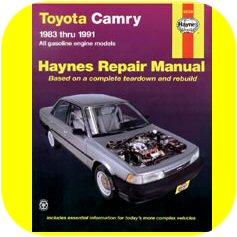 Repair Manual Book Toyota Camry 83-91 Owners 3SFE 2SELC-0
