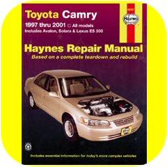 Repair Manual Book Toyota Camry Avalon Solara Lex ES300-0