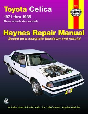 Repair Manual Book Toyota Celica 71-85 Owners Workshop-0