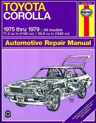 Repair Manual Book Toyota Corolla 75-79 Owners Workshop-0