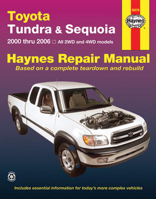 Repair Manual Book Toyota Hilux Pickup Truck Sequoia-0