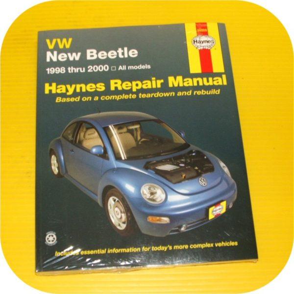 Repair Manual Book VW Beetle Volkswagen Owners Workshop-0