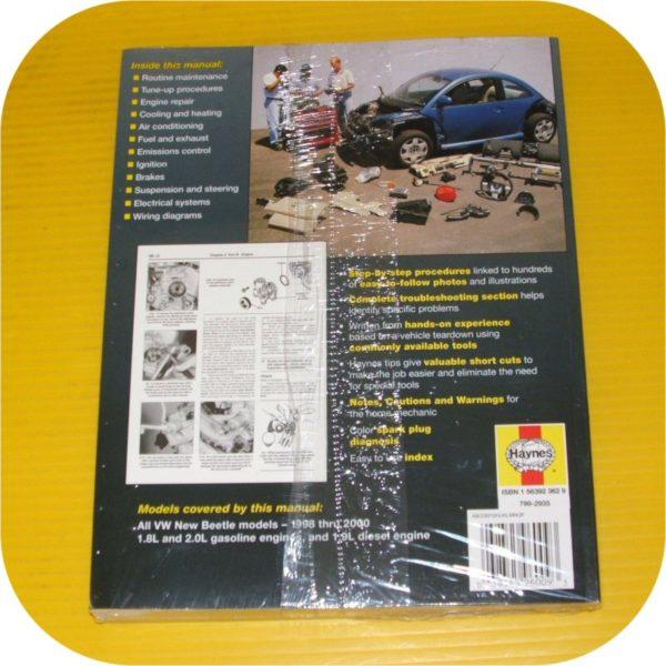 Repair Manual Book VW Beetle Volkswagen Owners Workshop-2004