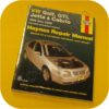 Repair Manual Book Volkswagen Golf GTi Jetta Owners-0