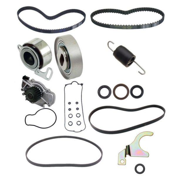 Timing Belt Kit for Honda Accord LX DX 94-97 2.2 Water Pump-0