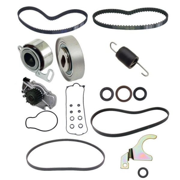 Timing Belt Kit for Honda Accord 90-93 2.2 w/ Water Pump-0