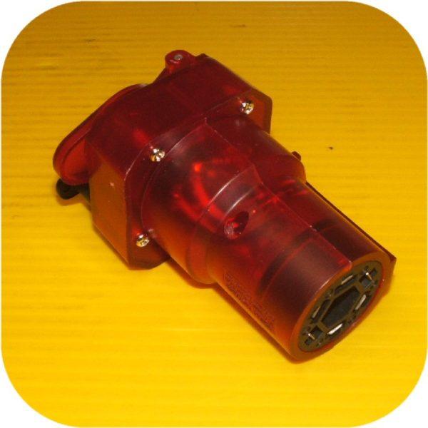7 RV Blade to 4 Flat 6 pole Trailer Brake Light Adapter-16985