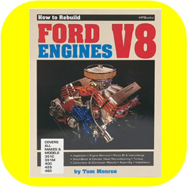 How to Rebuild Ford V8 Engines 351 400 428 Engine Rebuild Rebuild Book Manual-0