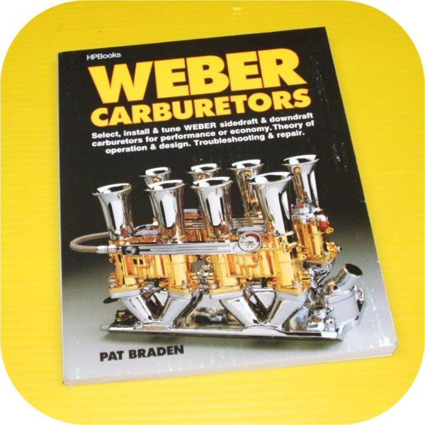 Weber Carburetors Manual Repair Carb DCOE 32/36 DGV IDF 44 48 Rebuild Kit Filter-0