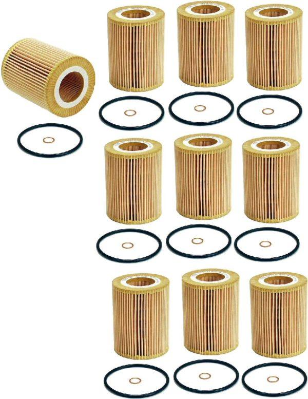 10 Oil Filters BMW Mann Z3 Z4 E36 E46 330 323 328 X5 X3-0