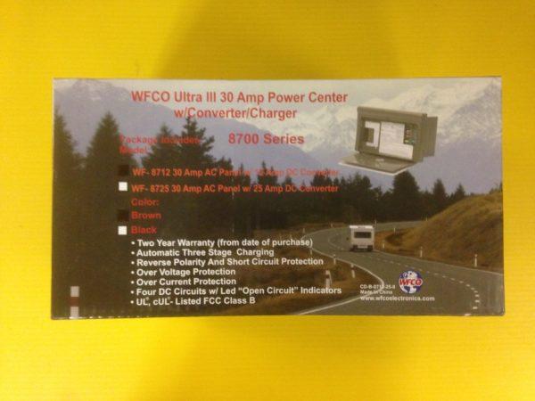 Power Inverter Converter 12 amp POWER CENTER Pop Up Camper Travel Trailer 40A DC-20117