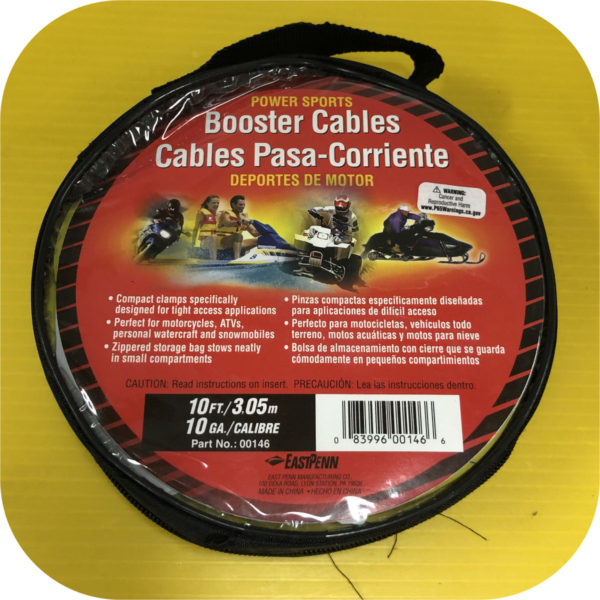 Battery Jumper Cables for Acura Honda Toyota Nissan Kia Hyundai Chevy Ford Dodge Jeep-22888