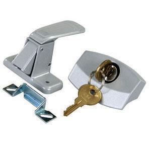 Door Latch Lock w/ Key Pop Up Camper Jayco Rockwood Flagstaff Skamper Viking-0