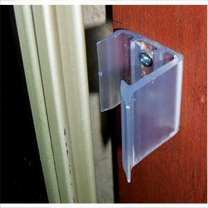 2 Pack Sliding Mirror Door Catch Travel Trailer Camper RV Latch-0