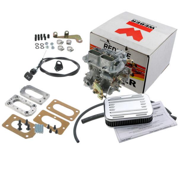 Outlaw Weber Carburetor Kit for Suzuki Samurai G13 K601-38M Manual Choke-0