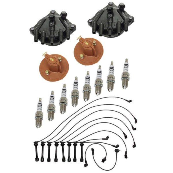 Tune Up Kit Lexus SC400 LS400 90-97 1UZFE Distributor Cap Rotor Plugs-0