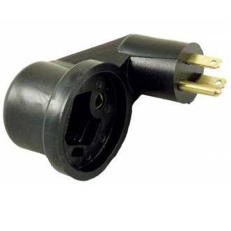 Flip Flop 110v / 30 amp power cord adapter Camper Travel Trailer Pop Up RV Plug-0