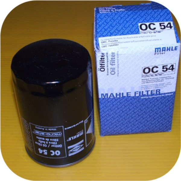 MAHLE OC54 Oil Filter Porsche 911 Carrera 2 4 Turbo S SC 930 72-94-0