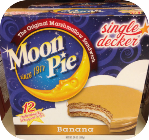 Dozen Single Decker Banana Moon Pie Graham Marshmallow MoonPie Cake Original-0