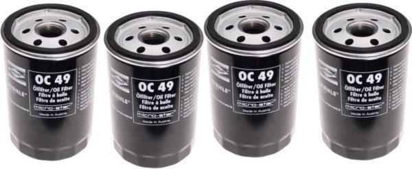 4 Oil Filters BMW 325 e i iC 525 528 E28 E30 E34-0