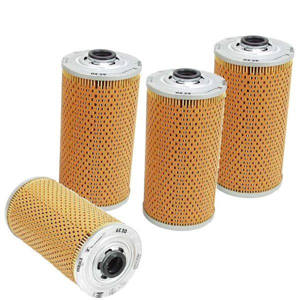 4 Oil Filters BMW 524td 524 td 83-86 E28 Kits-0