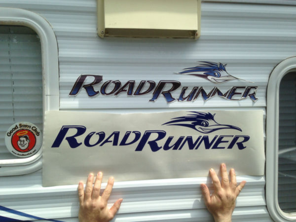 Decal for Sun Valley Road Runner Camper Travel Trailer Bunkhouse Stickers-19585