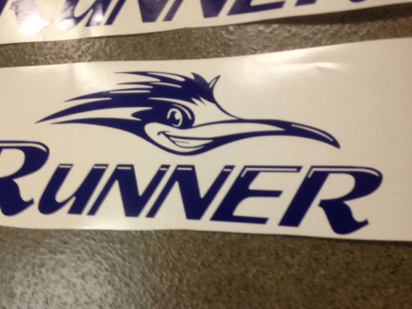Decal for Sun Valley Road Runner Camper Travel Trailer Bunkhouse Stickers-19587