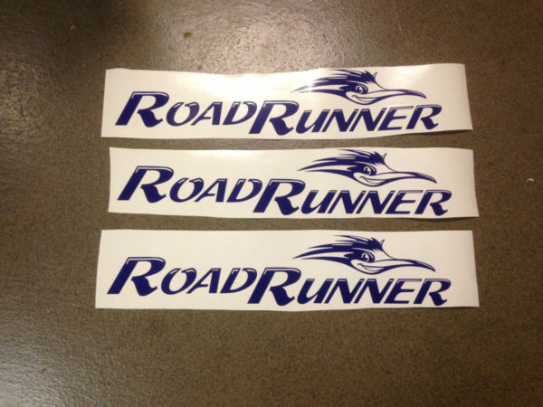 Decal for Sun Valley Road Runner Camper Travel Trailer Bunkhouse Stickers-19588