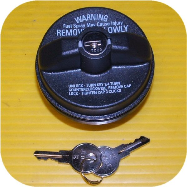 Locking Gas Cap Ford F150 F250 F350 Pickup Super Duty (eBay #300237474595, mrhorton23)-13868