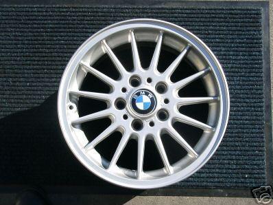 """One Rim Wheel BMW 318I 320I 325I 330I 323I E30 E36 15""""-0"""