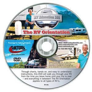 CD DVD Manual Guide RVing Made Easy Motor Home RV Camper Travel Trailer Pop Up-0