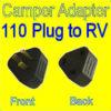 110v / 30 amp power cord adapter Camper Travel Trailer Pop Up RV Plug Cord-0