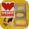 Weber Carb Manifold Adapter for Nissan B210 B310 Mazda GLC MIZER Honda Civic Accord-0