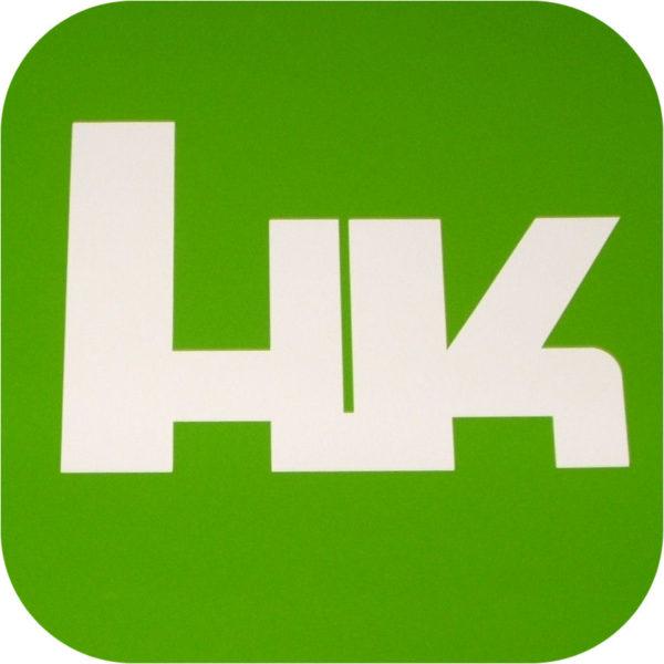 H&K Vinyl Sticker Heckler and Koch Hand Gun 416 45 USP Holster 9 laser mag grips-0