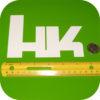 H&K Vinyl Sticker Heckler and Koch Hand Gun 416 45 USP Holster 9 laser mag grips-19391