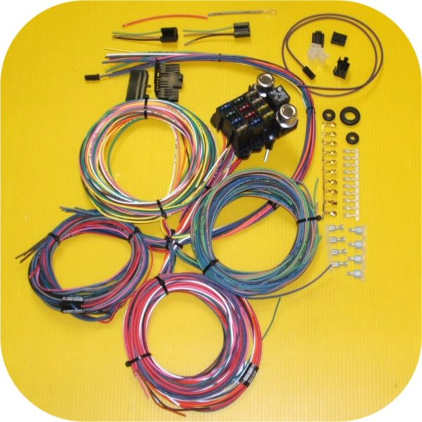 Complete Wiring Harness IMC Scout II Toyota Land Cruiser FJ40 Ford Bronco Truck-0