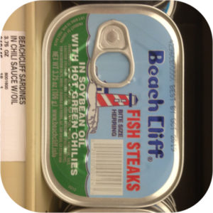 Beach Cliff Sardines in Soybean Oil with Hot Green Chilies Herring Steaks Fish-0
