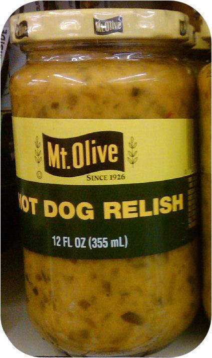Mount Olive Hot Dog Mustard Pickle Relish 12oz Weiner Bun MT-0